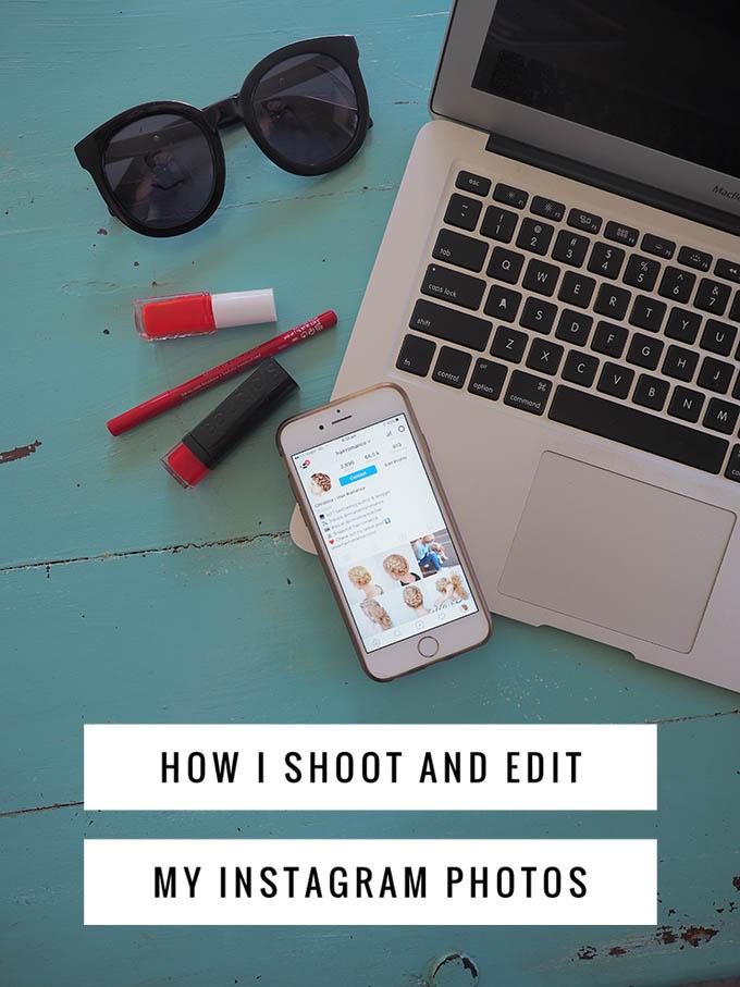 How I shoot and edit my Instagram photos - Hair Romance