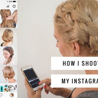 How I shoot and edit my Instagram photos