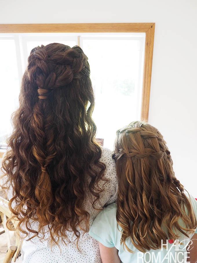 Real Wedding Hair Inspiration Curly Hair Bride Hair Romance