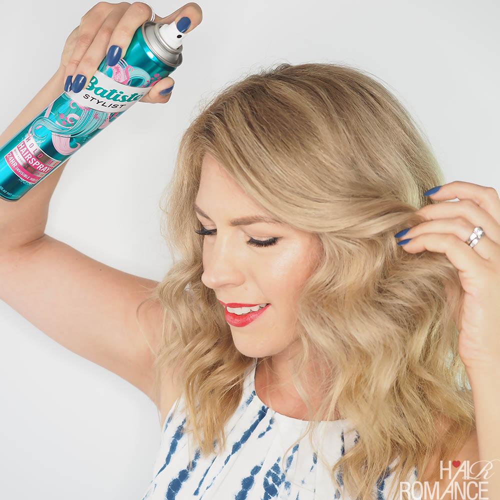 Fashion week Hairstyles hairspray for girls