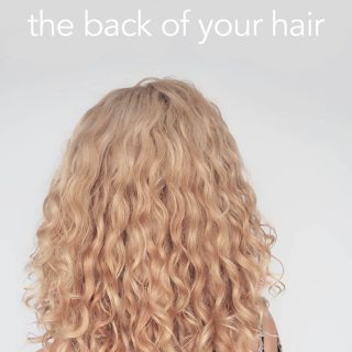How to diffuse the back of your hair