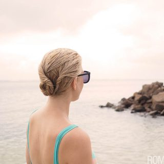 Beach Bun Twist Hairstyle Tutorial