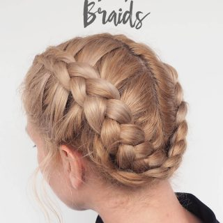 The best braids for wet hair – Dutch braid video tutorial