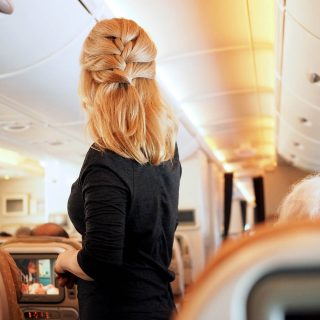 Long haul hairstyles – how to arrive looking like you flew first class