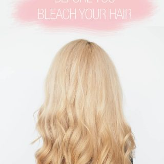 11 things to know before you bleach your hair
