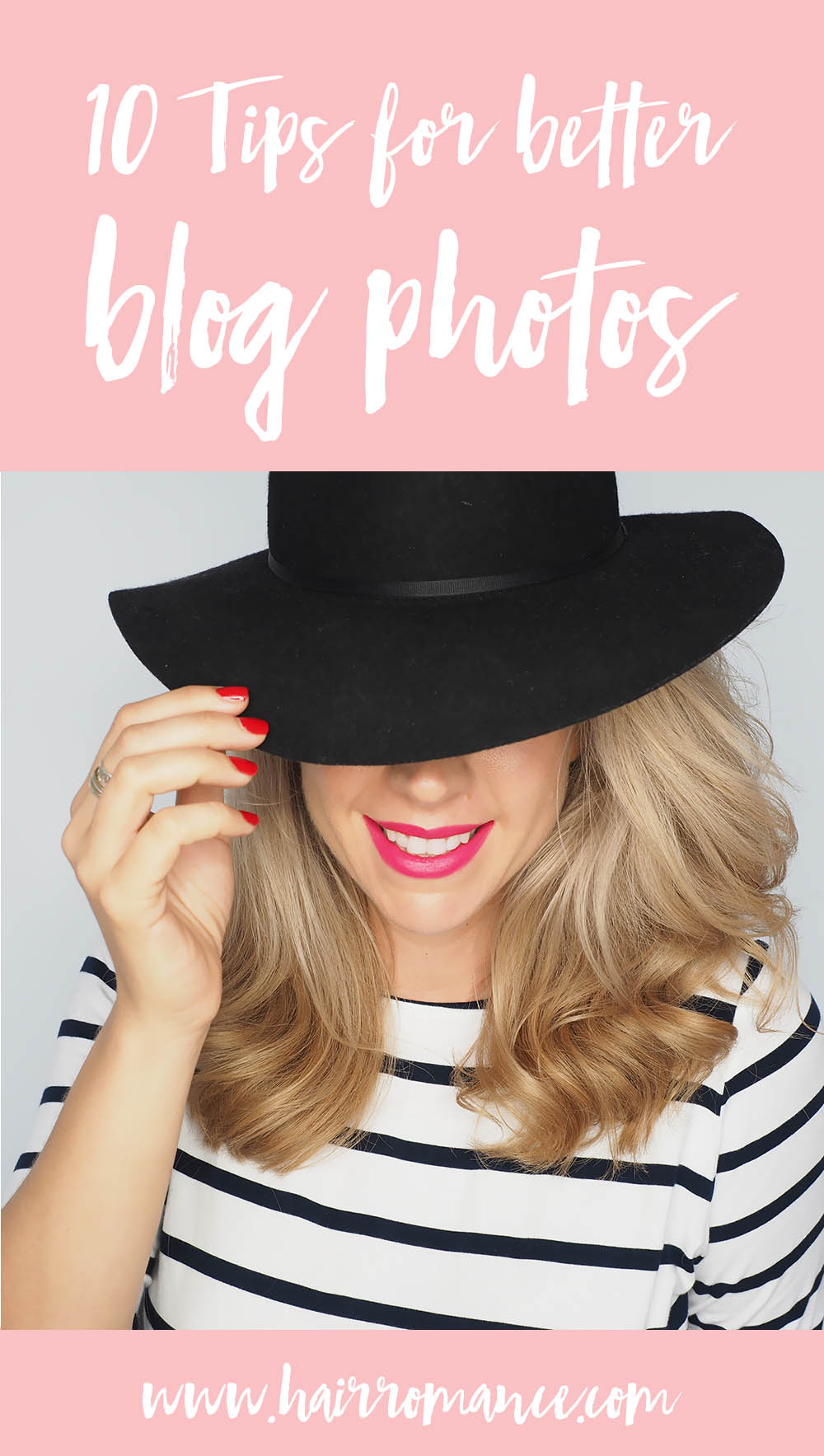 Hair Romance - 10 tips for better blog photos