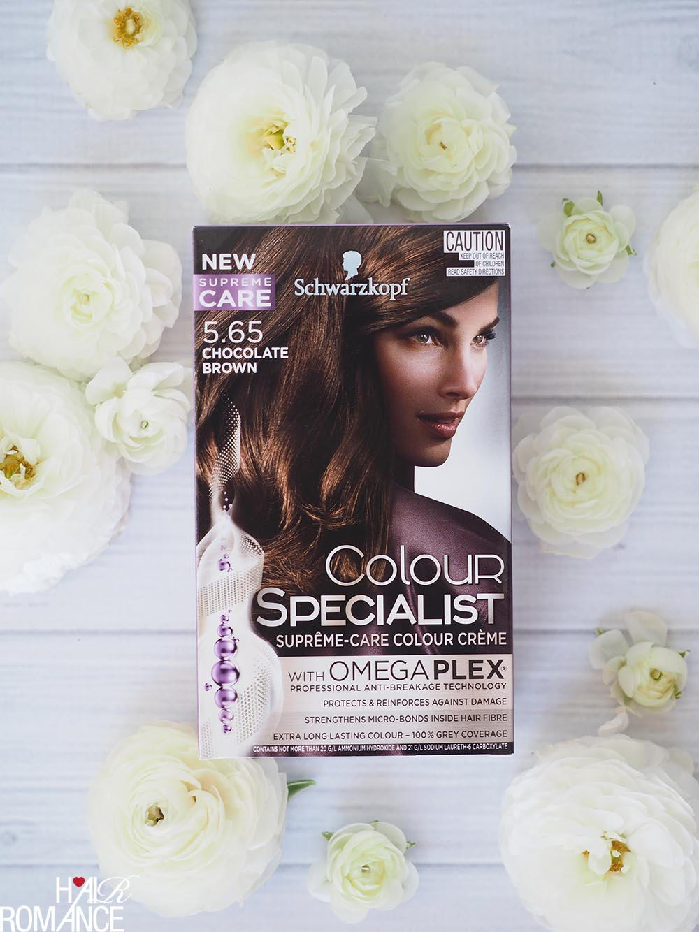Hair Transformations with Schwarzkopf Colour Specialist range with Omegaplex