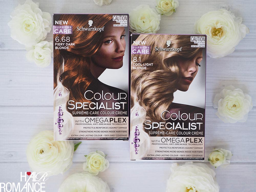 Hair Romance - Colour Specialist Fiery Dark Blonde and Cool Light Blonde