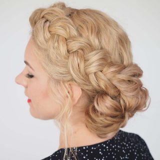 Hair Romance - Great Hair Fast - Braid Tutorial for Messy Curly Hair