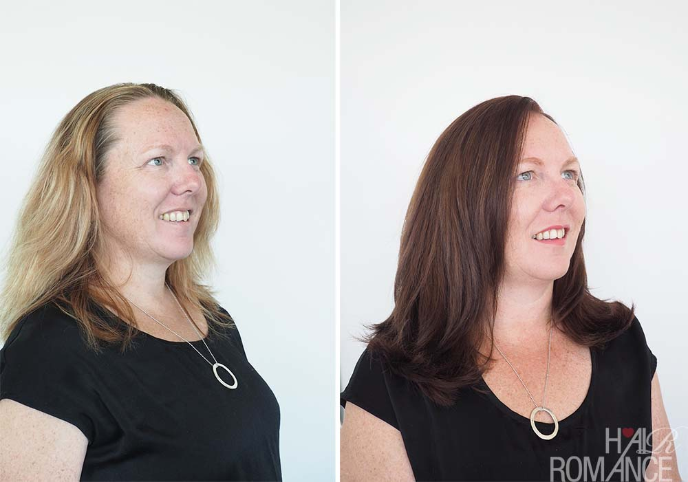Hair Romance - Hair transformation - Schwarzkopf Colour Specialist Review