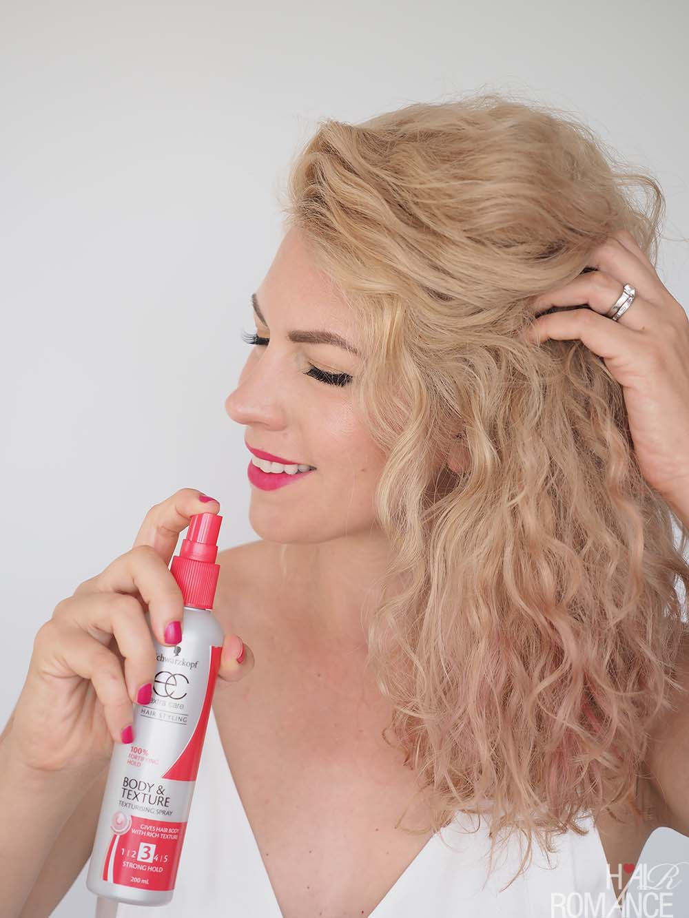 quick & easy updo for curly hair - Hair Romance