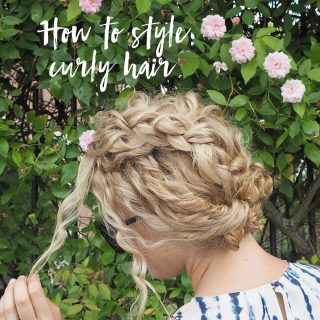 How to style the front of curly hair – Tips and curly hair tutorials
