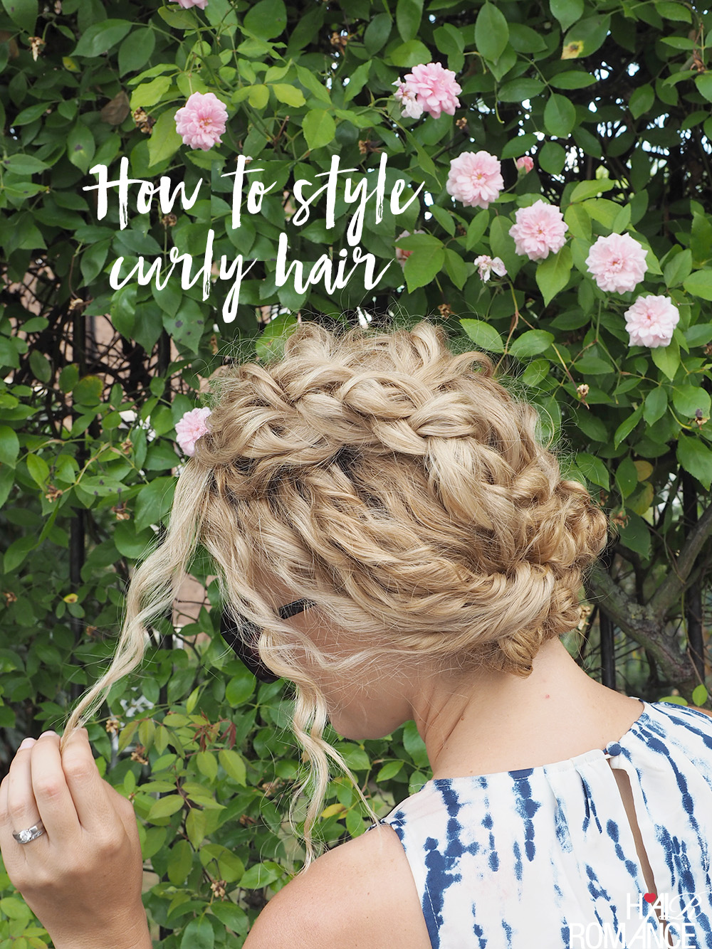 How To Style The Front Of Curly Hair Curly Hair Tutorials By Hair Romance