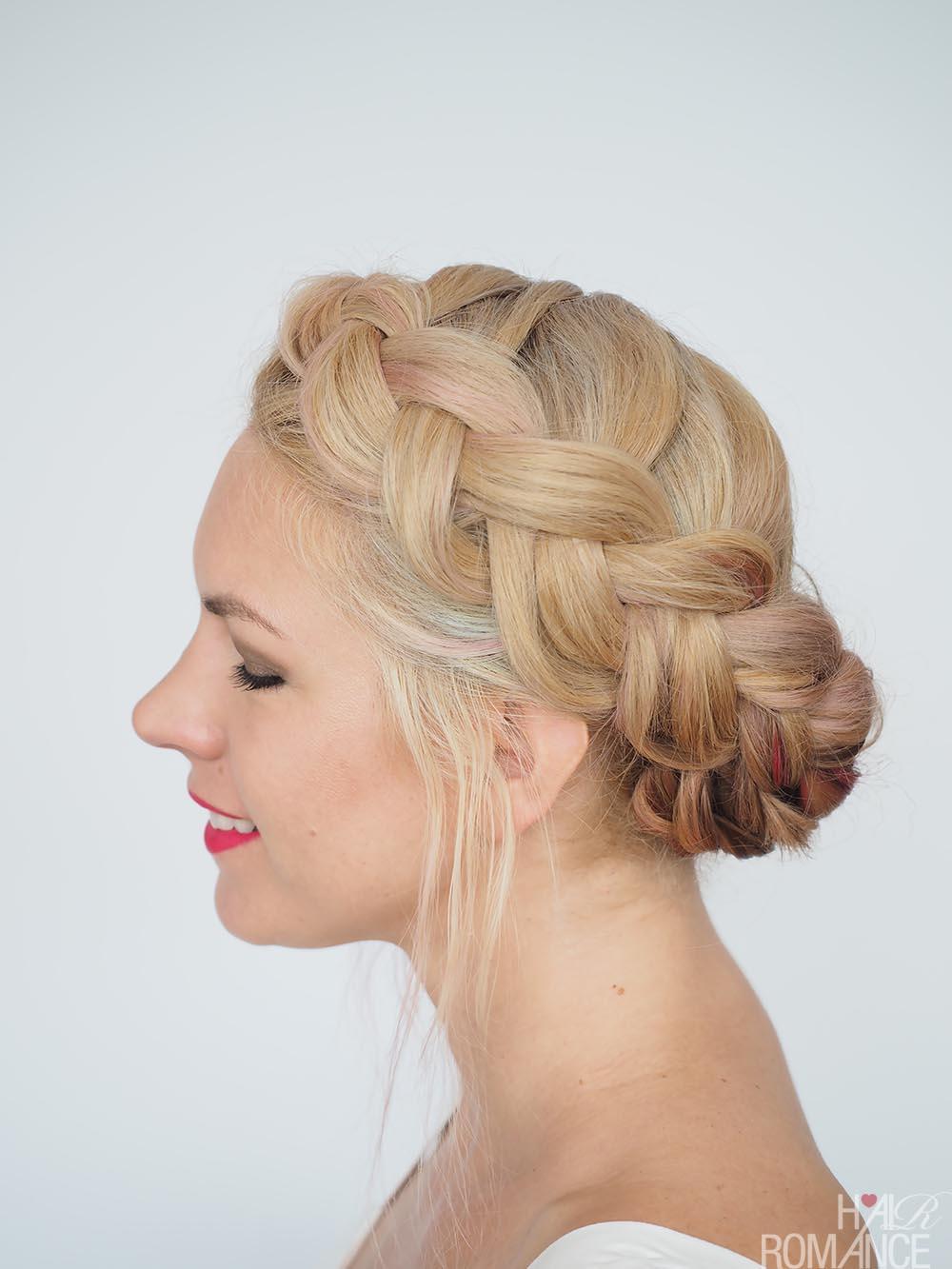 anti-frizz braid tutorial - humid weather hairstyles - hair