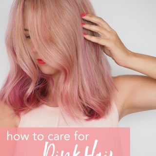 How to care for pink hair