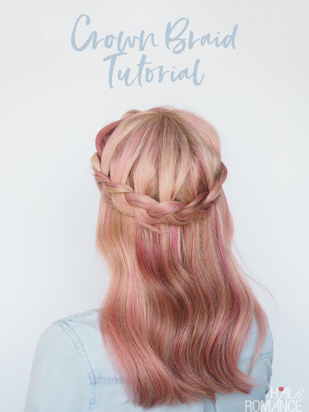 A New Way To Wear A Crown Braid 2 Hairstyle Tutorials In 1