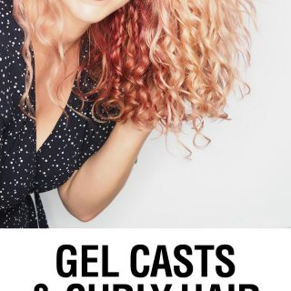 How to Get a Gel Cast in Curly Hair