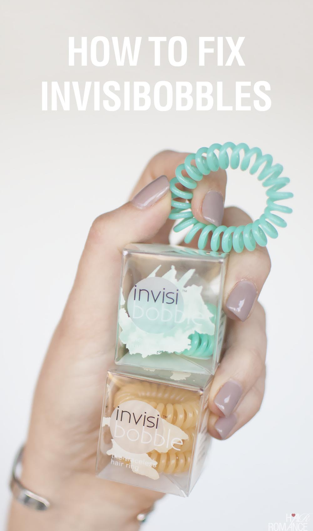 How to fix Invisibobble hair elastics - Hair Romance ba73ed15c71