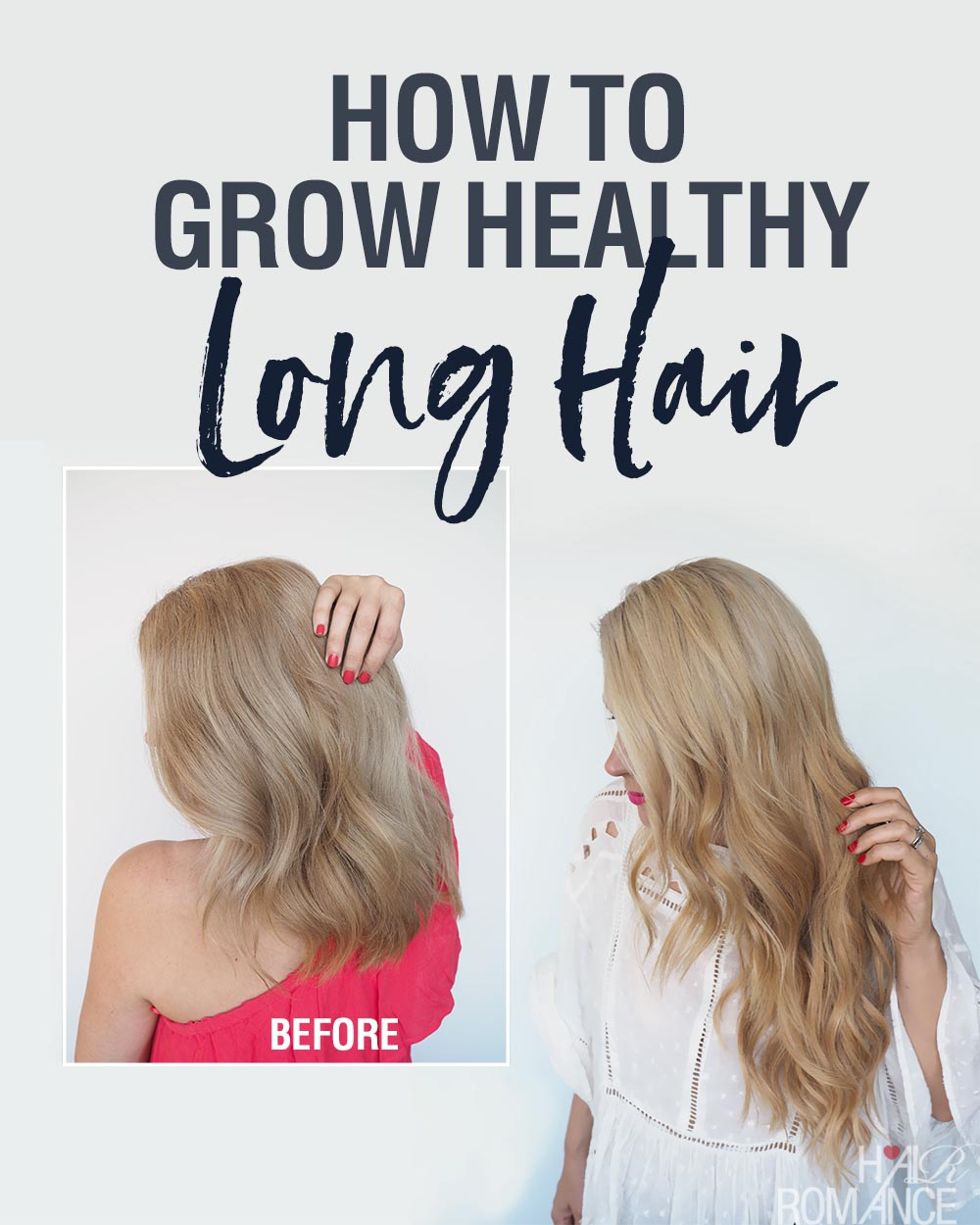 How to grow long healthy hair fast - Hair Romance