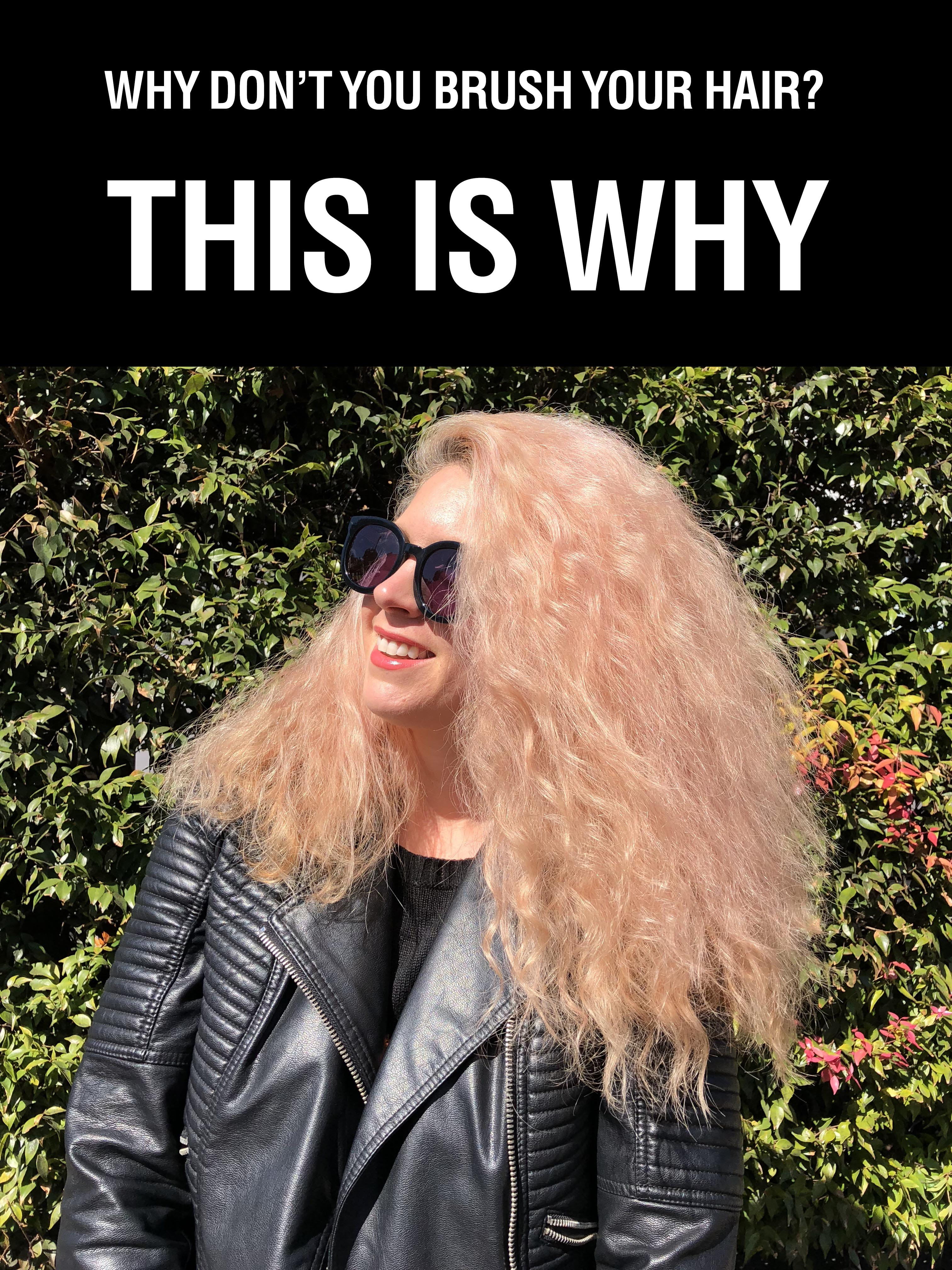 Why don't you brush your hair - Hair Romance
