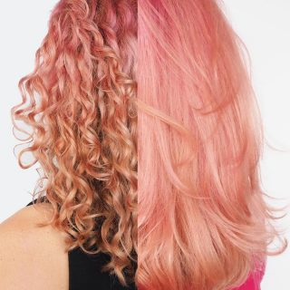 How to get your curls back after straightening curly hair