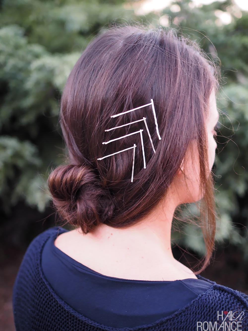 Bobby pin hairstyles