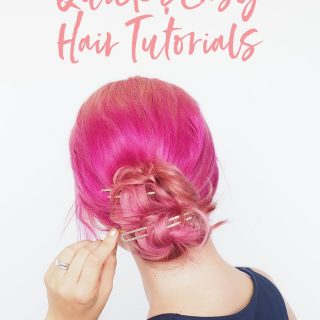 3 fast and easy everyday hairstyles