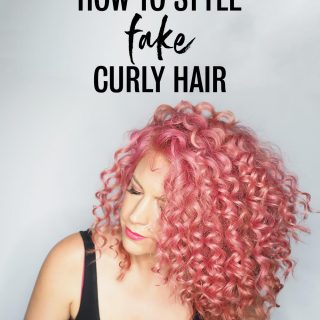 Fake curls! How to get hair that looks naturally curly