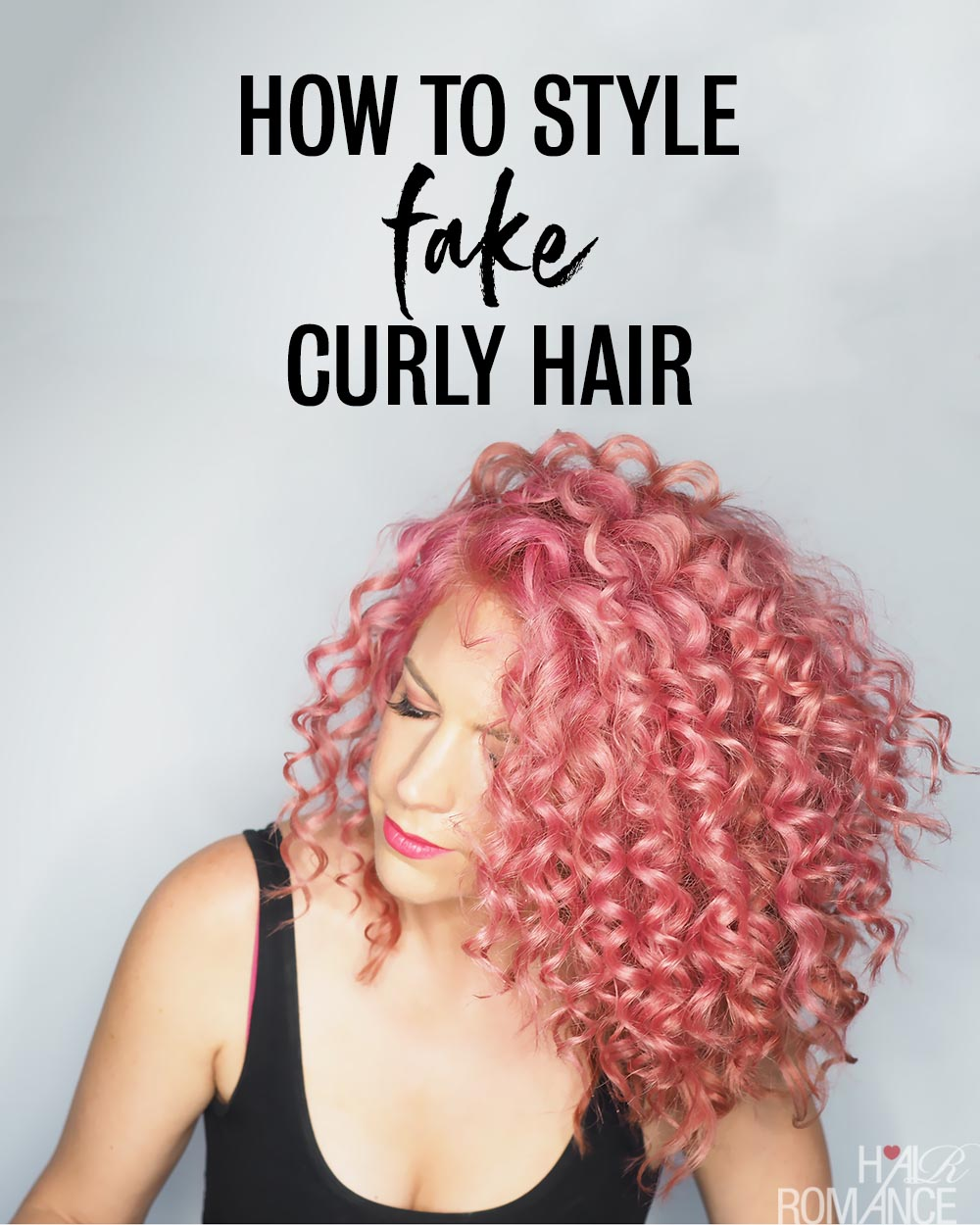 Pretend curls! How one can get hair that appears naturally curly