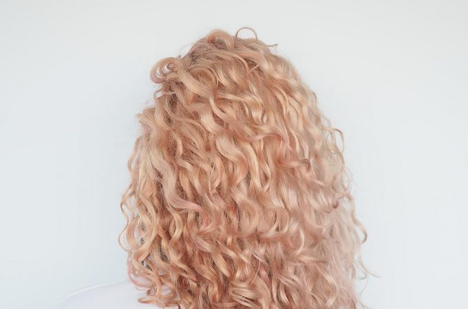 Volume in Curly hair