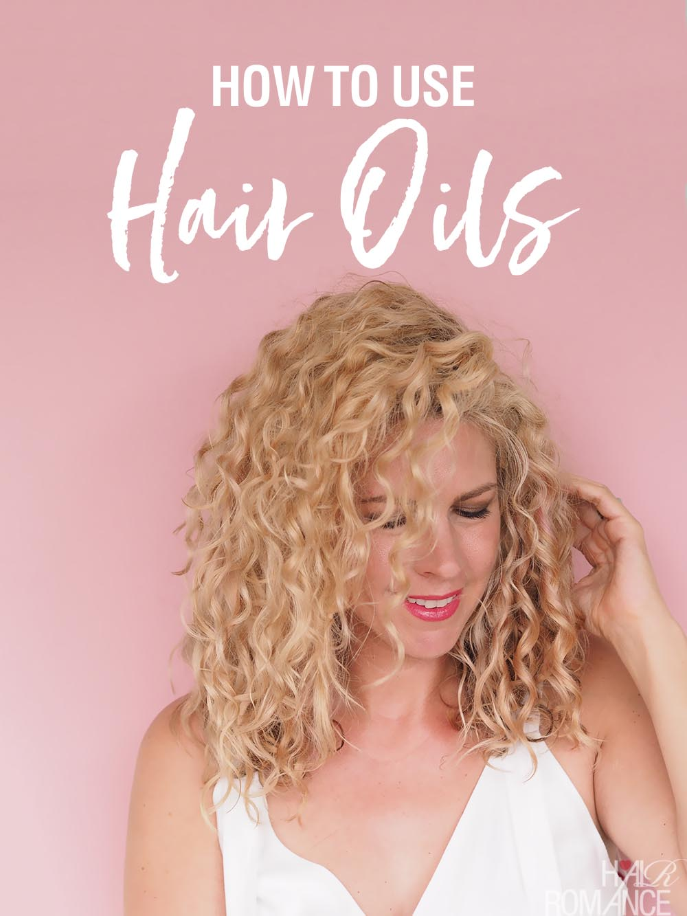 When do you employ hair oils?