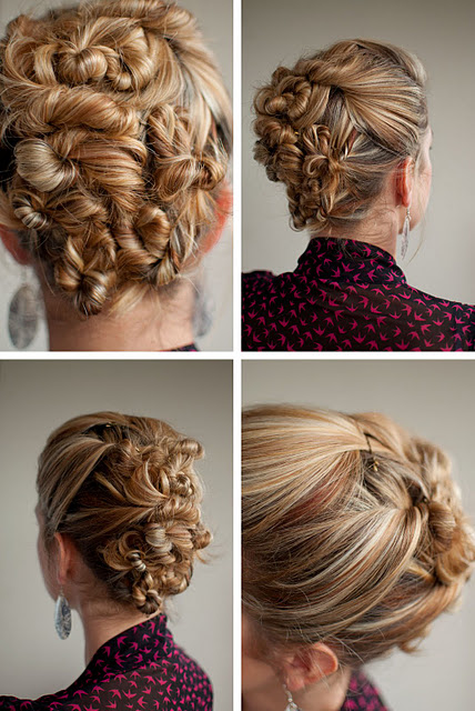 30 Days Of Twist Pin Hairstyles Day 29 Hair Romance