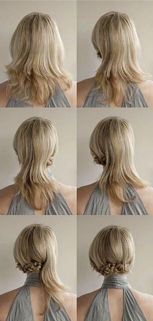 Lo más universal tutoriales de peinados Galería de cortes de pelo estilo - Manualidades, belleza, ecología y más.: Tutoriales de ...